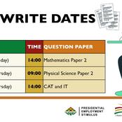 NEW: Leaked Matric Papers will be written again on these dates Angie Motshegka confirmed
