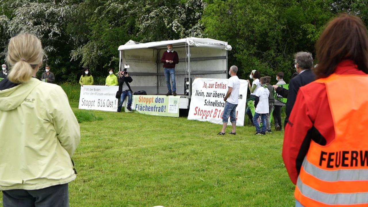 Landkreis Günzburg: Gemeinsamer Protest gegen Straßenneubau