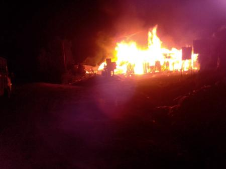 Grief as Chief's Office Is Burnt to Ashes In Olenguruone