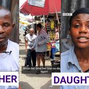 I Became Blind In 2016 And Since My Wife Left Me, My Daughter Has Been My Only Helper - Man(Video)
