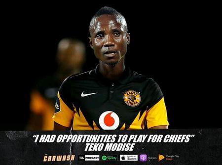 Teko Modise had Chances to Join Kaizer Chiefs
