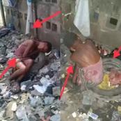 Voyez cette photo d'une petite fille sans abri endormie dans un dépotoir (Photos)