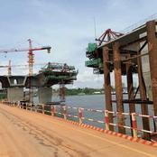 Les images inédites de l'avancement des travaux du 4ème pont d'Abidjan