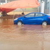 Korhogo: la violente pluie d'hier a fait d'énormes dégâts dans la ville
