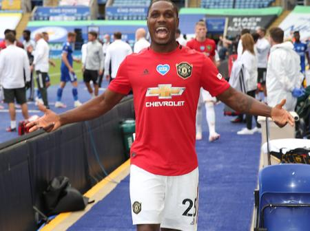 Odion Ighalo in line to make UEFA champions league debut after Man Utd release UEFA squad