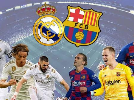 BOOST for Real Madrid ahead of the CLASICO as Barcelona receives disheartening news