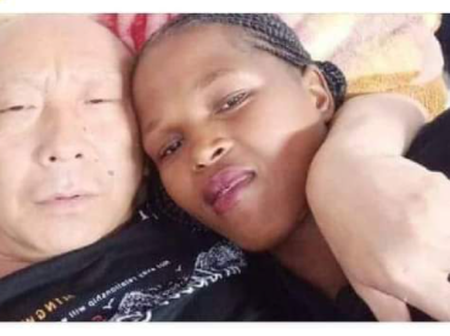What Went Wrong In SA? A South African Lady Got Caught Up In Bed With A Chinese Man. Stunning. Photo