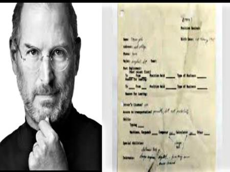 Genius: See how much Steve Job's 50 year old job application letter was sold for.