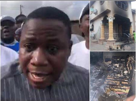 Less Than 24 Hours To Go: See What Sunday Igboho Said Will Happen To Those That Set His House Ablaze