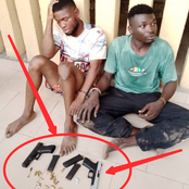 See What Police Recovered From These Armed Robbers That Got Reactions On Social Media (PHOTOS)
