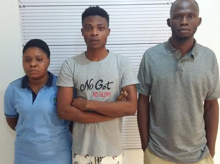 Woman, two men who posed as customs officers to defraud man in fake vehicle auction land in trouble