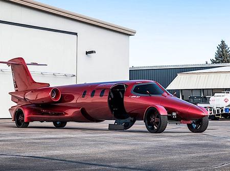 First Drivable Limo-Jet Ever Built around the Globe (See Pictures)