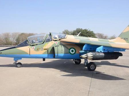 Nigeria Fighter Jet Found