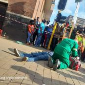 Fight Between Taxi Driver's And Foreign Nationals Continue As Marshall Is Gunned Down in Hillbrow.