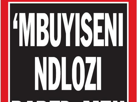 Mbuyiseni Ndlozi of the EFF accused of Rape: See people's reactions