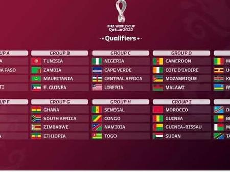 Football : voici le calendrier des éliminatoires de la coupe du monde 2022 Zone Afrique