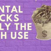 Six Mental Tricks Only The Rich Uses