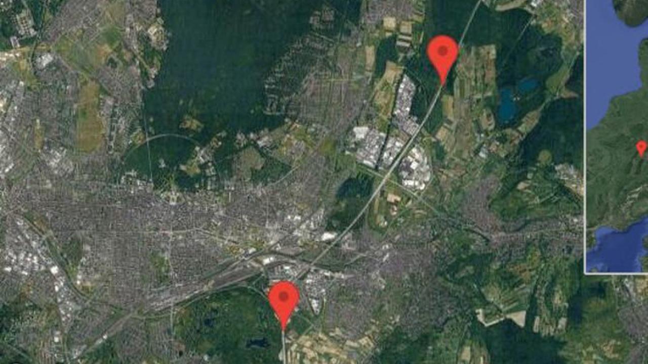 Karlsruhe: Bauarbeiten auf A 5 zwischen Dreieck Karlsruhe und Höfenschlag in Richtung Heidelberg