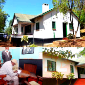 PHOTOS: The House In Which Uhuru Was Conceived Which He Also Visited Today