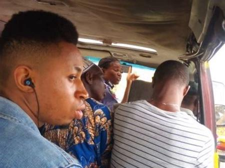 9 Types Of People You'll Always Meet In a Public Bus In Lagos, Which One Are You?