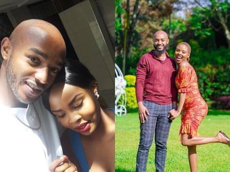 Diana Bahati's Beautiful Sister Mitchel And Her Hubby