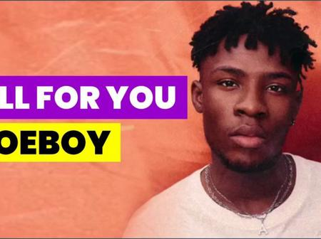 Joeboy releases video of all for you