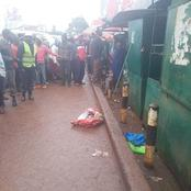 Details on The Body of A New Born Baby Dumped in Kisumu Emerge