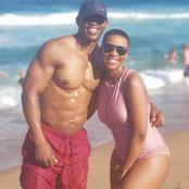 Check out Salamina Mosese and hubby Howza serving hot relationships goals. See pictures.