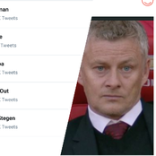 Ole Gunnar Solskjaer is currently trending on Twitter, See the reason why he is trending.