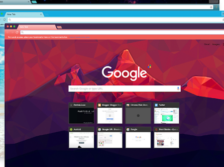 How to install Google Chrome theme and extension
