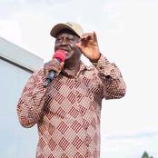 Raila Odinga Mocked By Angry Kenyans For Addressing Citizens Over BBI in Westlands