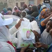 Check Out The Photos of Bola Ahmed Tinubu Foundation Beneficiaries In Kano