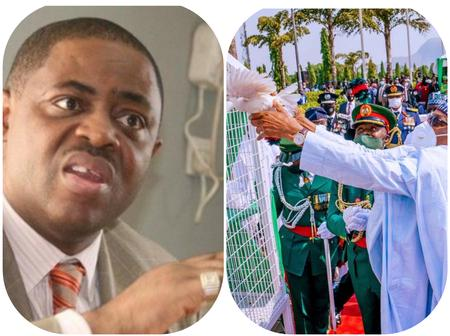 See What Femi Fani-Kayode Said To President Buhari After The Doves Refused To Fly At Remembrance Day