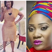 Mercy Johnson Shows Off Her Legs Wearing Her Hubby's Shoes (Photos)