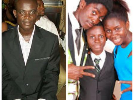 Throwback Photos Of Jackson K. Bentum And His Children Who Are Celebrities