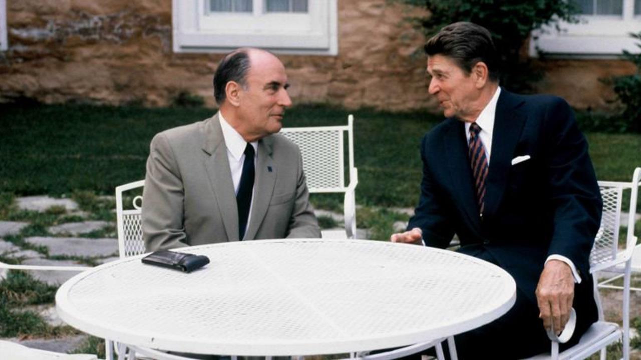 Françoise Coste: «Comme Biden, Reagan était aussi attendu au tournant pour sa visite inaugurale en Europe»