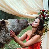صور الزفاف الأكثر جنونًا فى العالم ..دببة برية وبراكين ومنحدرات تتحدى الموت