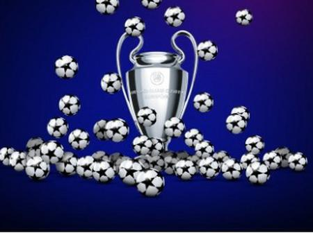 UCL DRAW: Fixtures and Date.