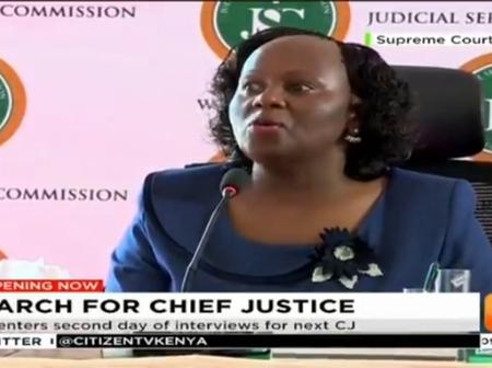 'Huyu Hawezi' Netizens React After Spotting This From Prof Mbote During Interview For Chief Justice