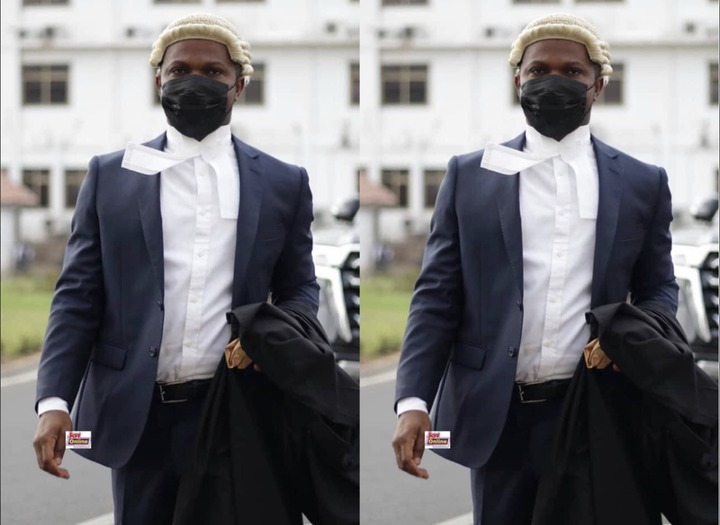 e8f68a5518204e4a97dd110d0319e911?quality=uhq&resize=720 - Sammy Gyamfi Causes Massive Stir At The Supreme Court After Showing Up In His Barrister Wig