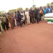 Heart Breaking: As Formal Player Of The Super Eagles Laid To Rest. May He Rest In Peace.
