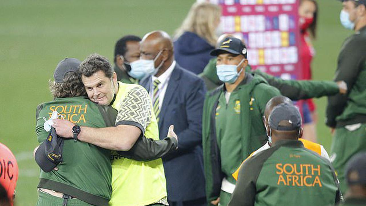 Rassie the rascal has the last laugh! South Africa's director of rugby Erasmus can claim his mind games paid off after several calls went the Springboks' way in the second Test