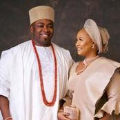 Meet The Beautiful Second Wife Of Oba Saheed Elegushi Who Is Daughter Of A Northern Leader