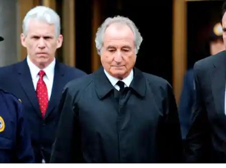 BERNIE MADOFF, Founder of the largest ponzi scheme in history dies in prison
