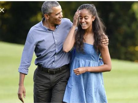 Photos: Meet Malia Obama And The Love Of Her Life Slaying.
