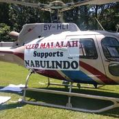 Cleo Malala Lands In Matungu With Choppers For ANC Campaigns