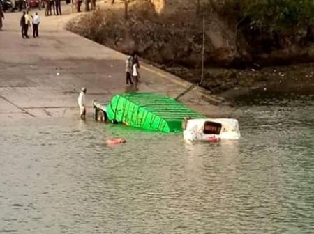 Another Truck Plunges Into The Ocean