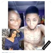 See Video & Reactions As Mother Encouraged Son To Tattoo Bobrisky On His Body