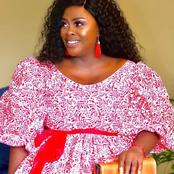 Dawn Thandeka king looks amazing in her beautiful dress which got Mzansi talking all over the media