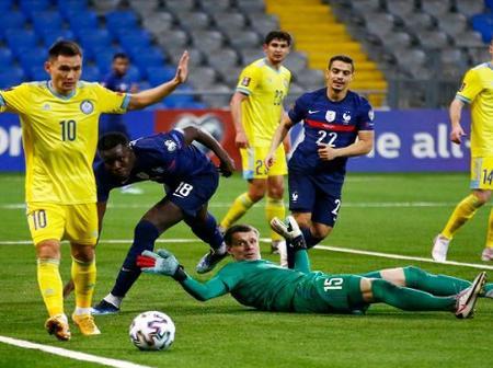 Dembele inspires France to 2-0 win in Kazakhstan